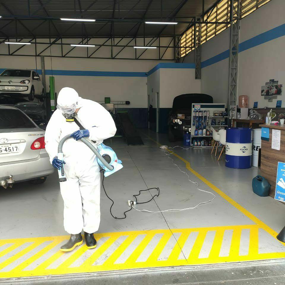 Higienização Comercial (Oficina Mecânica)