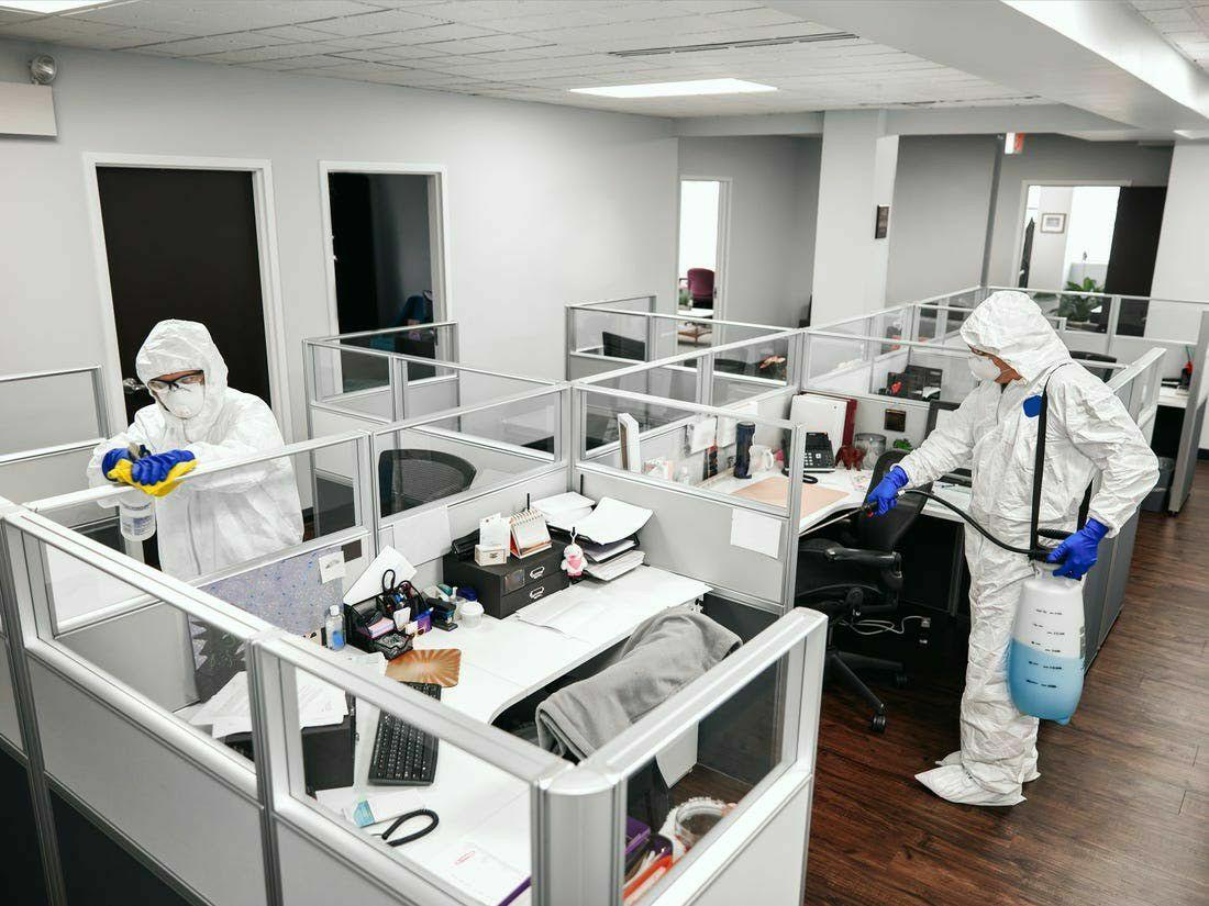 Higienização Comercial (escritório)