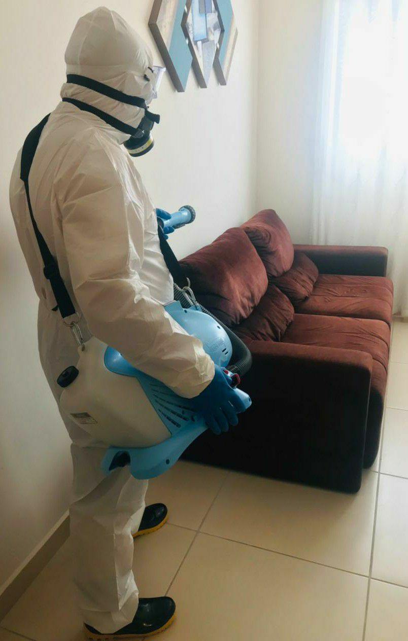 Limpeza personalizada higienização em Residências