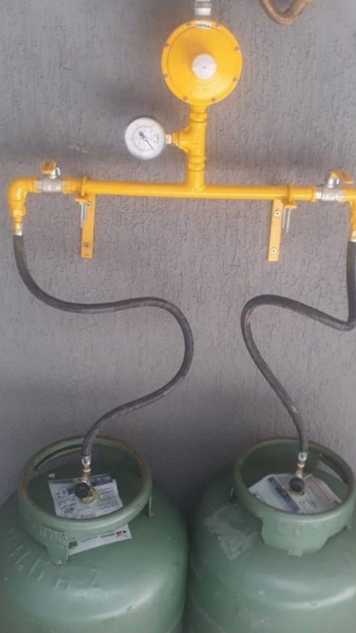 Instalação Central gás botijão p13