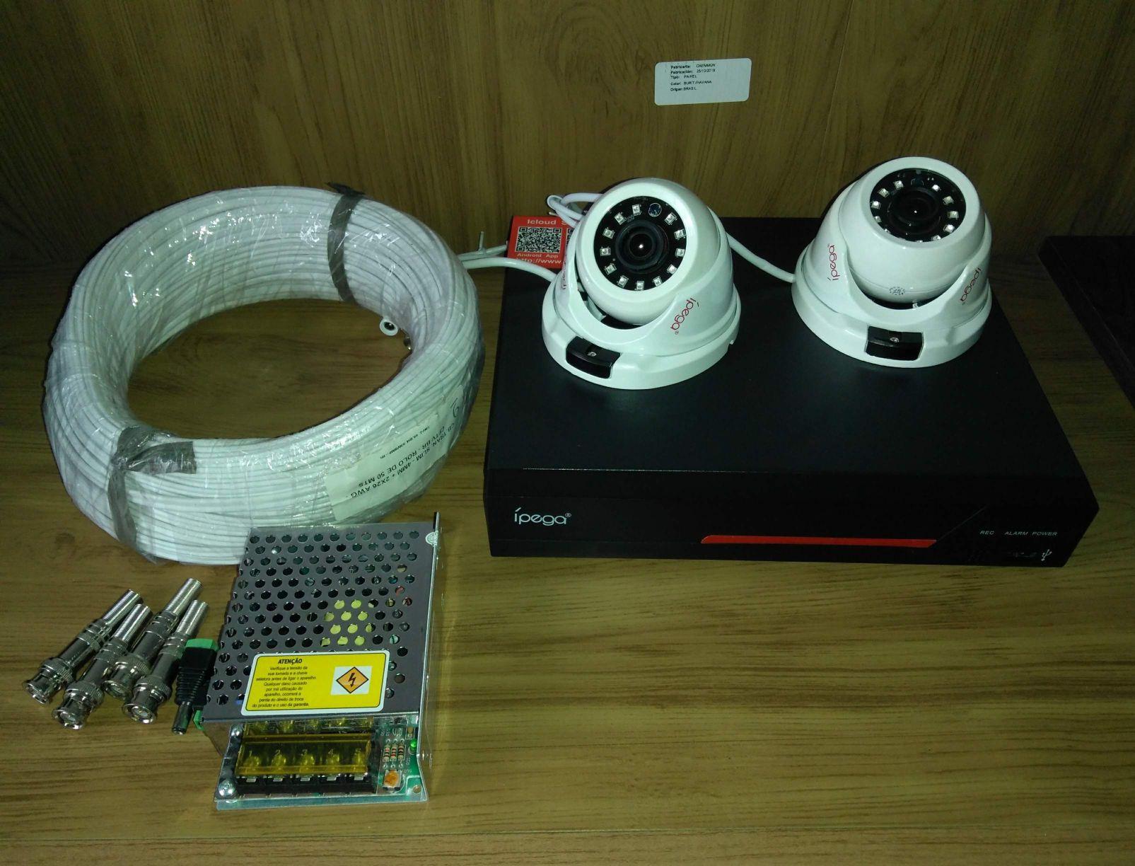 instalação de câmera CFTV