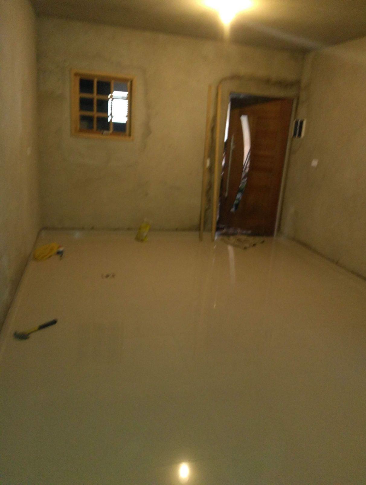 Reboco em geral e instalação de piso porcelanato