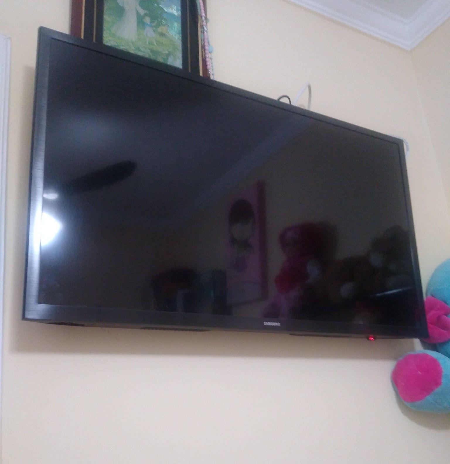 televisão instalada