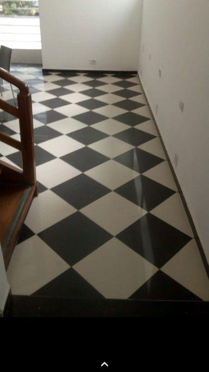 piso em xadres