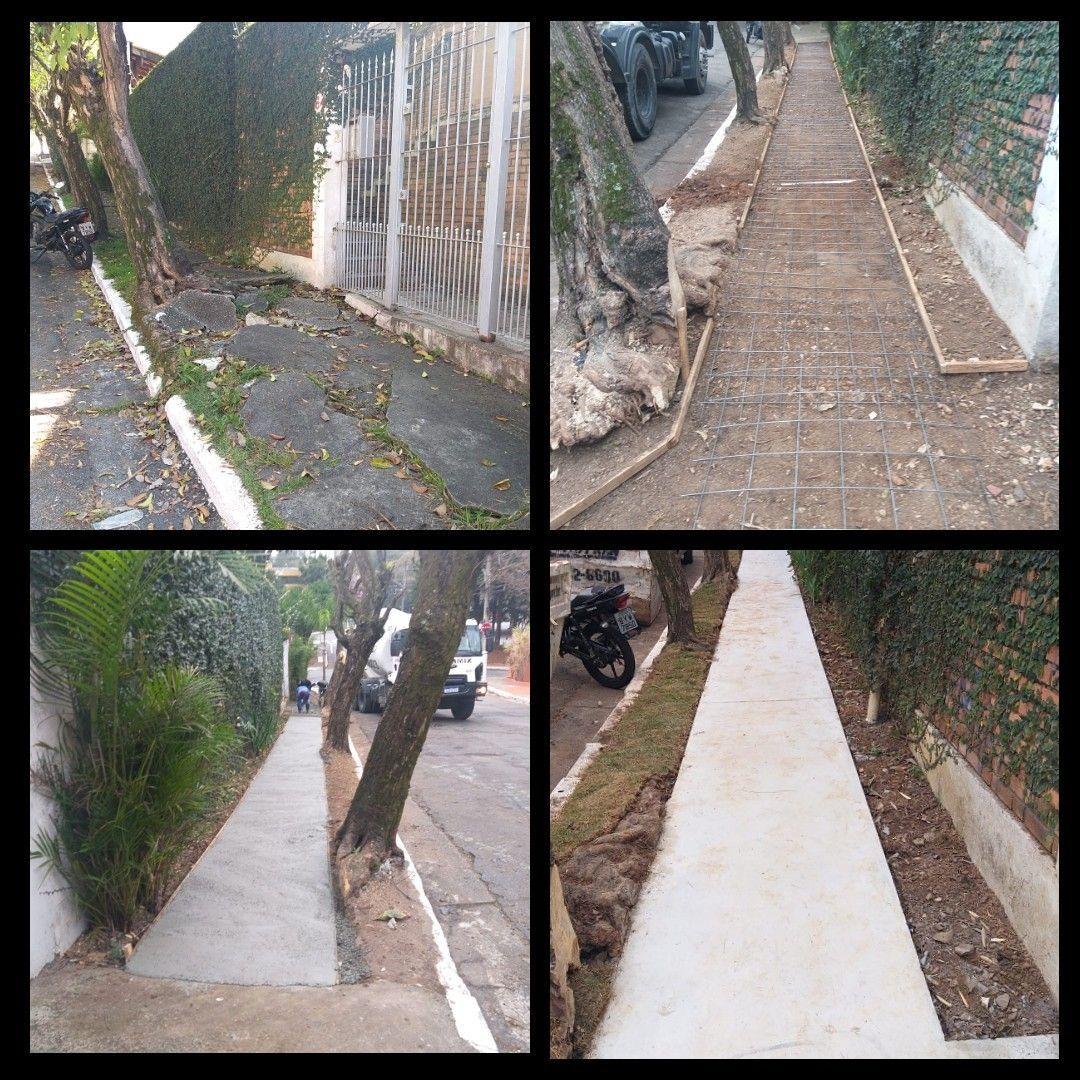 Execução de calçada: Vila Madalena
