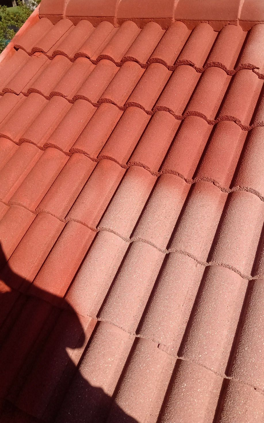 pintura e revitalização de telhado