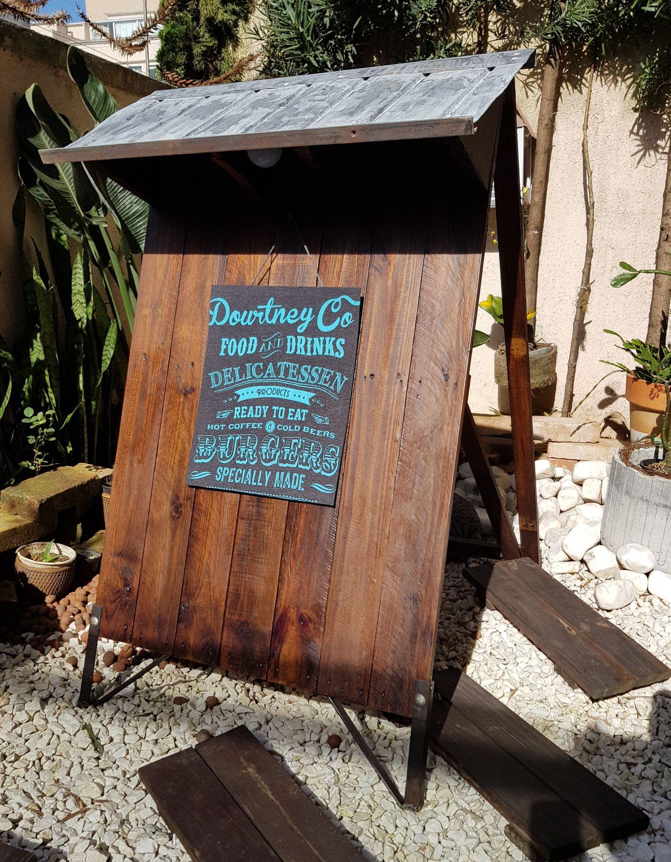 placa restaurante