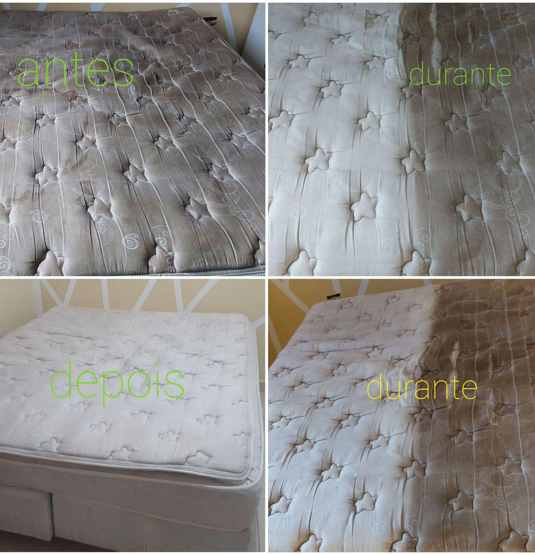 limpeza e higienizacao colchão de casal