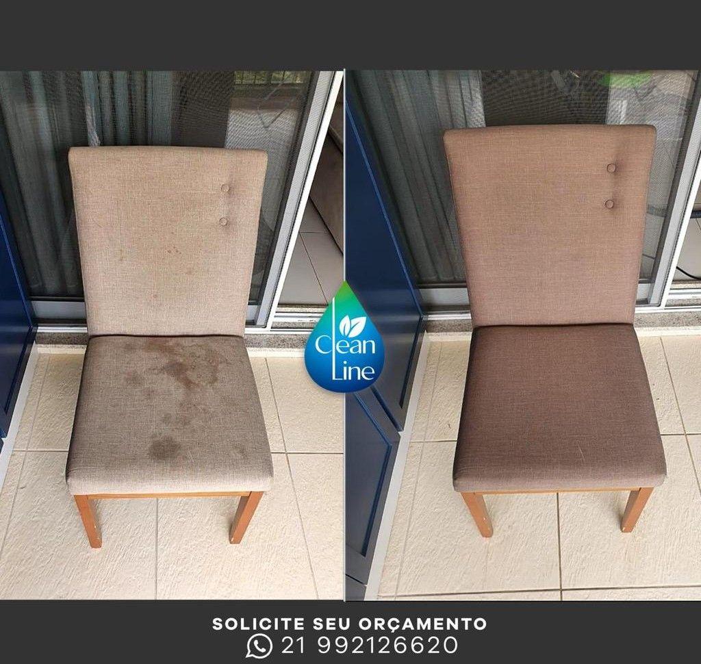 Higienização de Cadeira