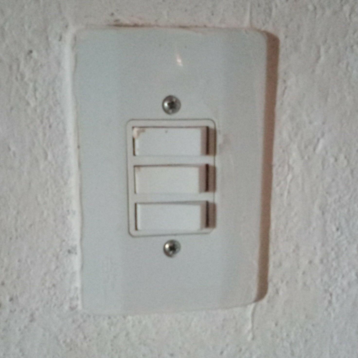 interruptor 3 seções