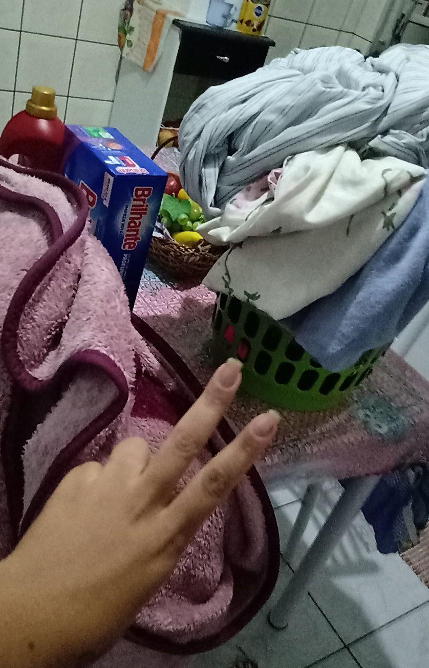 lavagem de roupa