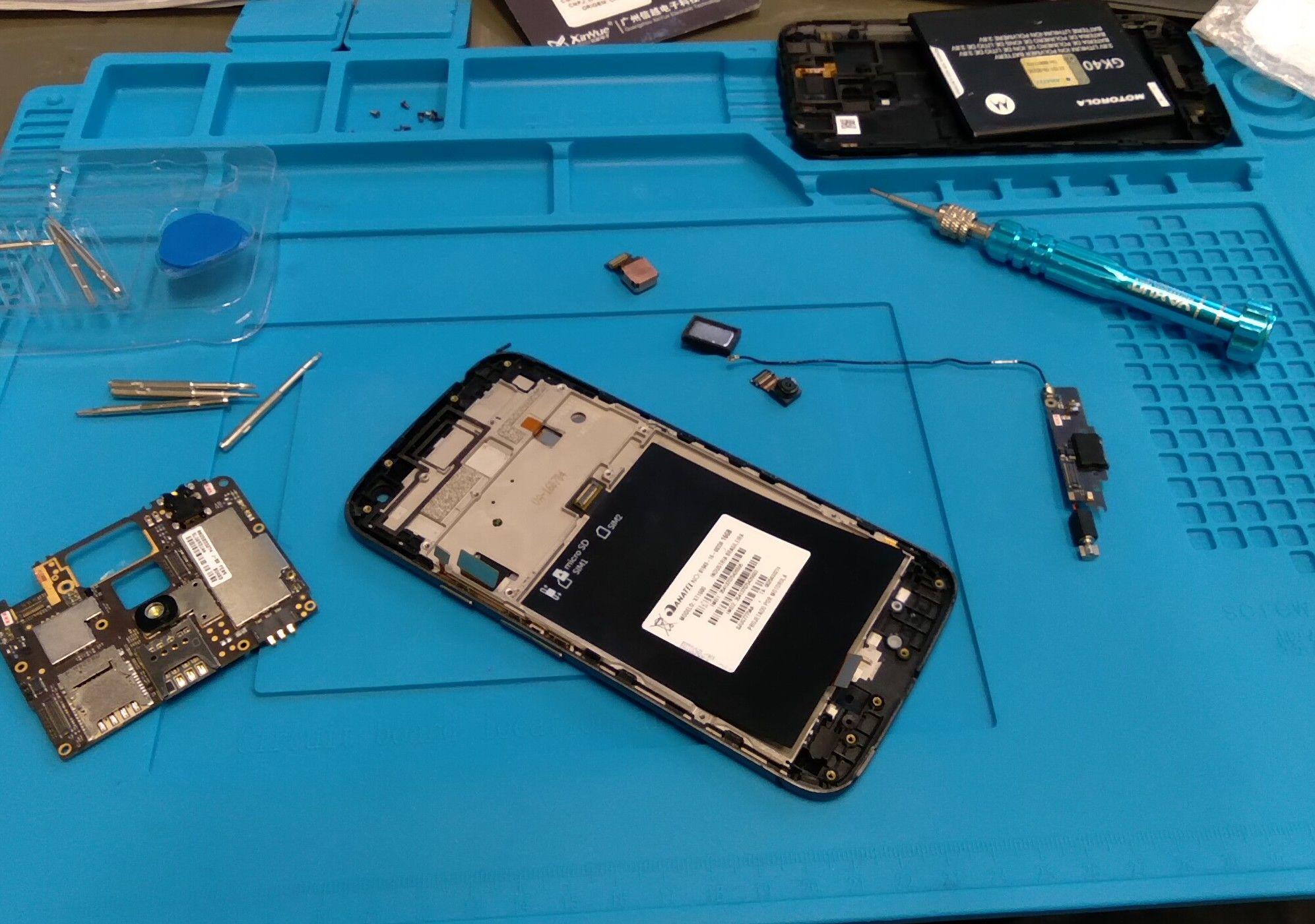 troca de placa e bateria