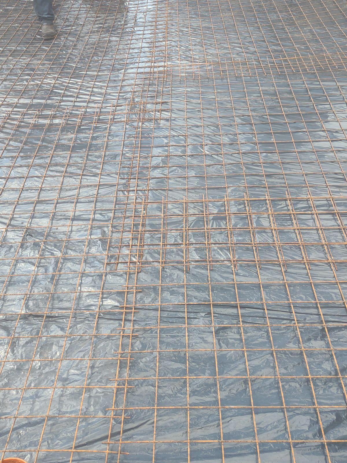 Preparação para concreto usinado polido