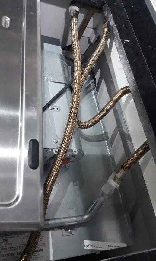 Adequação de ponto para instalação de cooktop