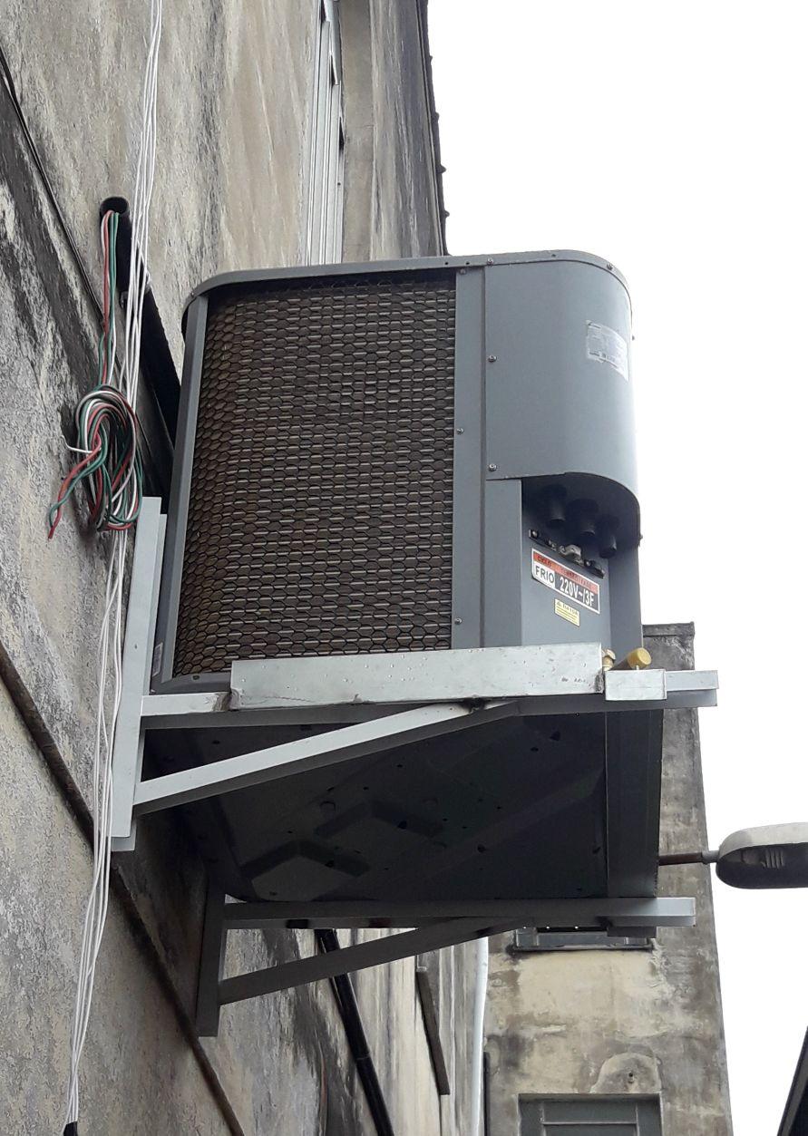instalação de ar condicionado Split de 60.000 BTUS