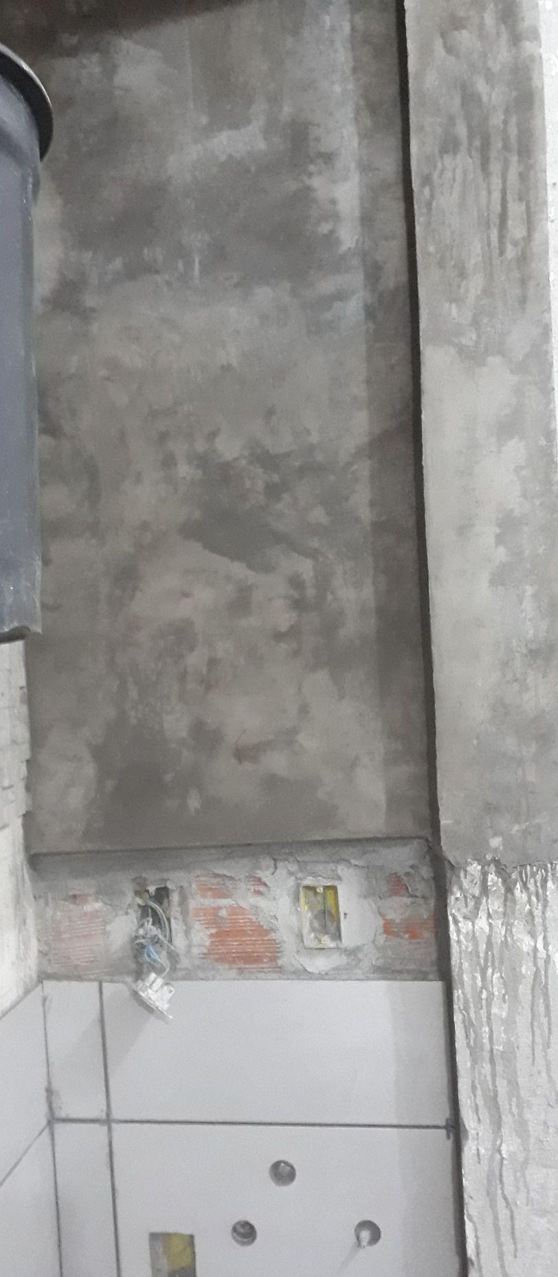 cimento queimado na parede