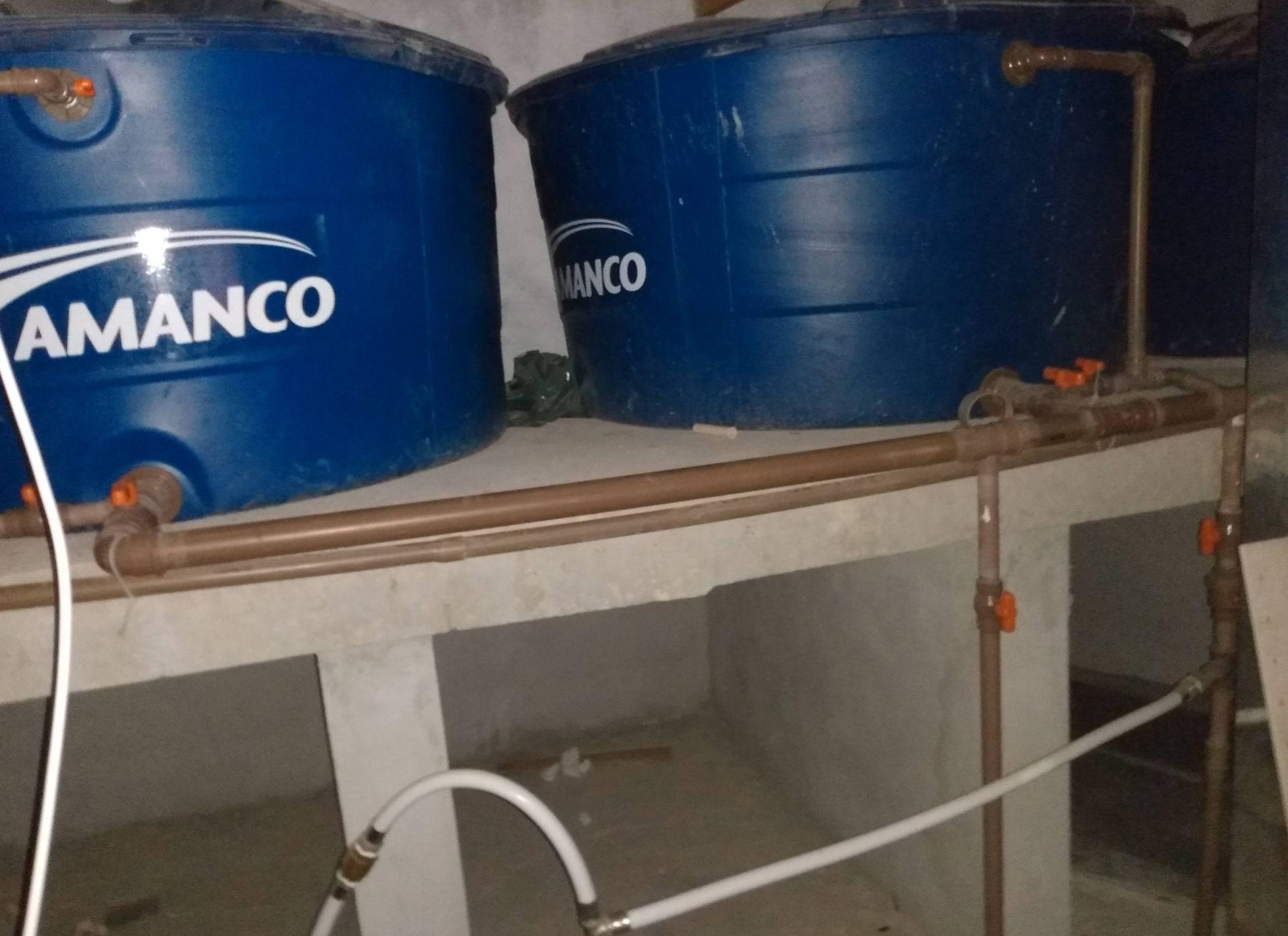 realizado a hidráulica das Caixas d água
