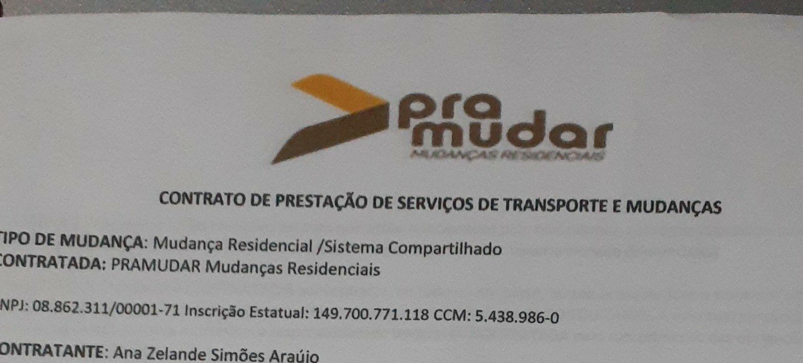 contrato de prestação de serviço