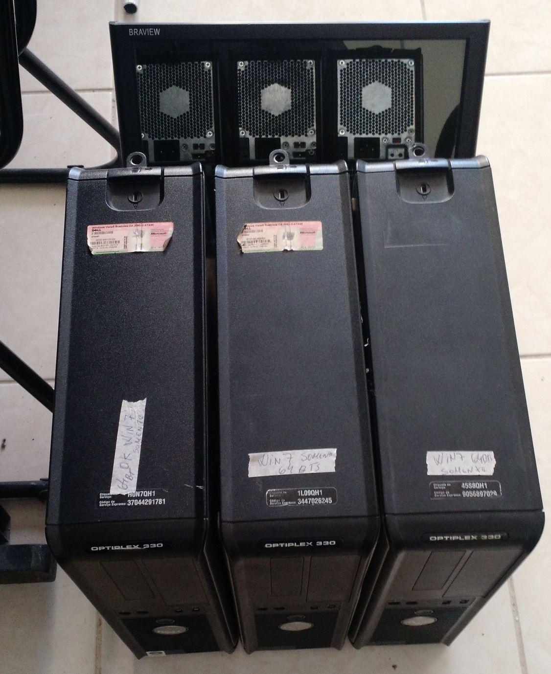 Manutenção de máquinas Dell