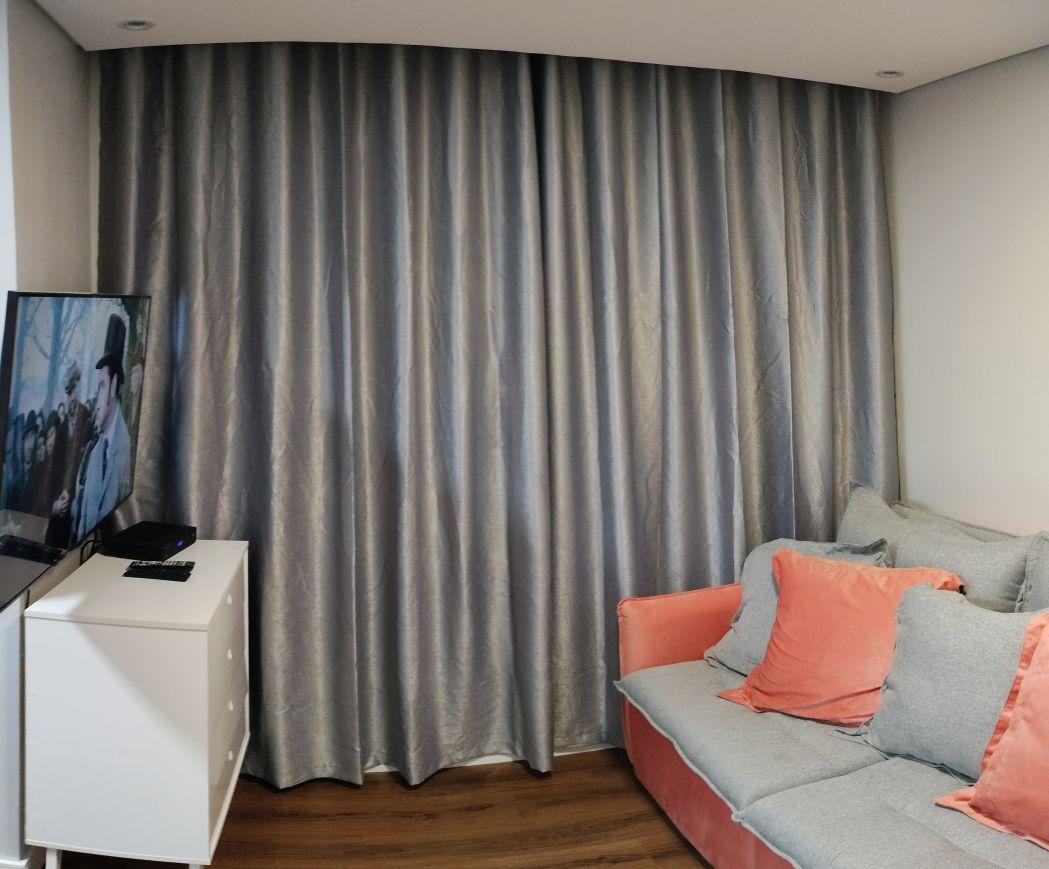 Instalação de cortina e TV e etc...