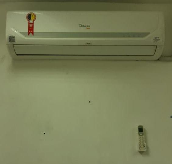 Instalação de Ar condicionado...
