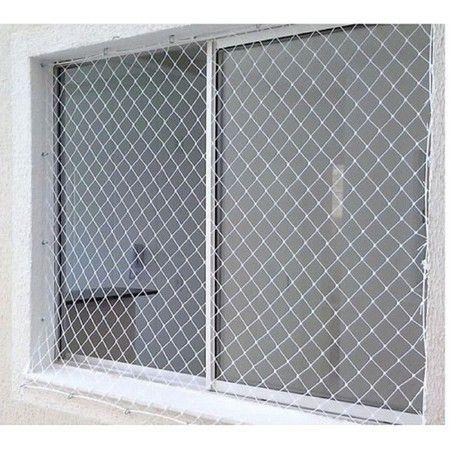 rede de proteção em janelas