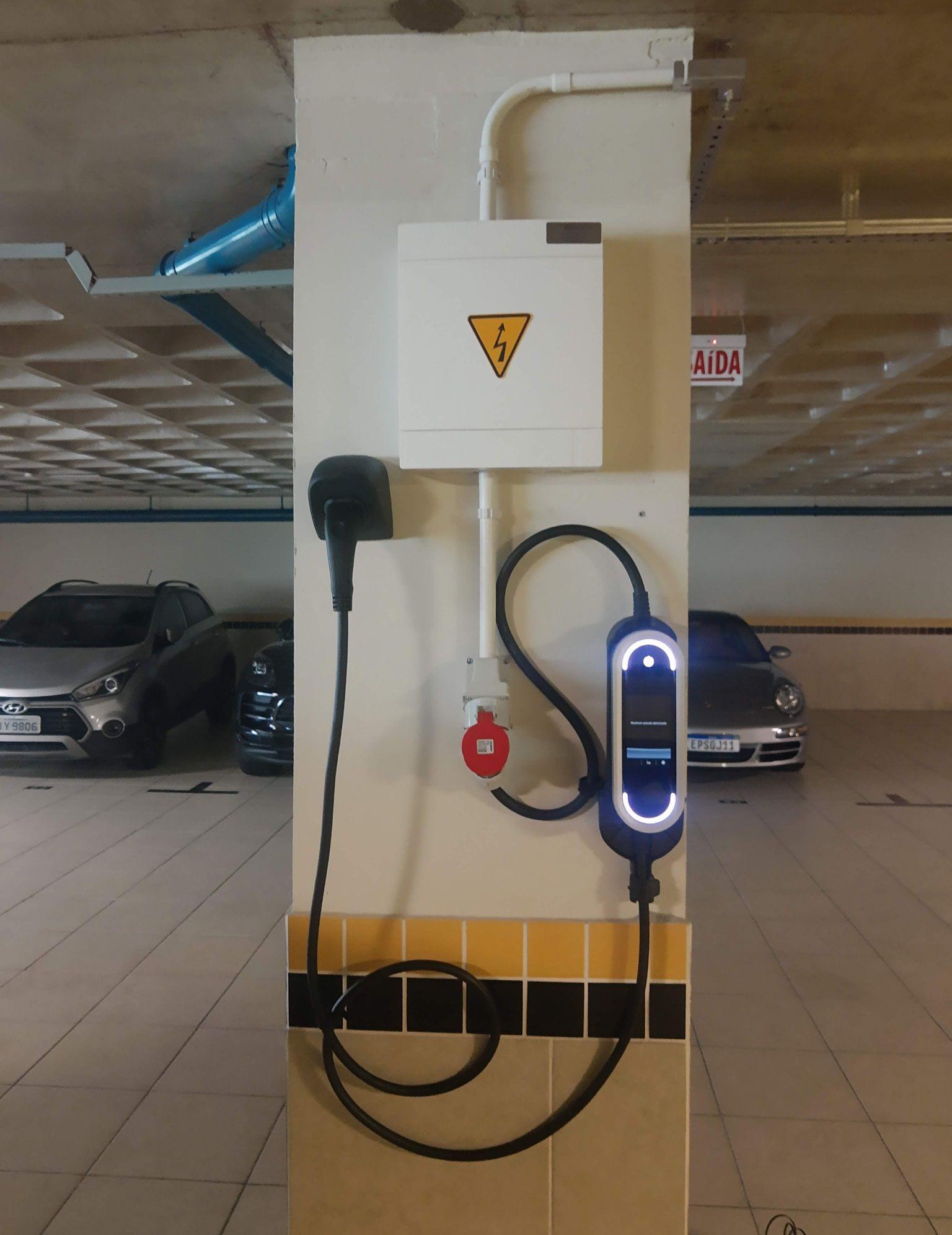 Instalação Carregador De Carros Elétricos Porsche