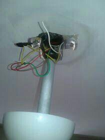 ventilador de teto com luminária