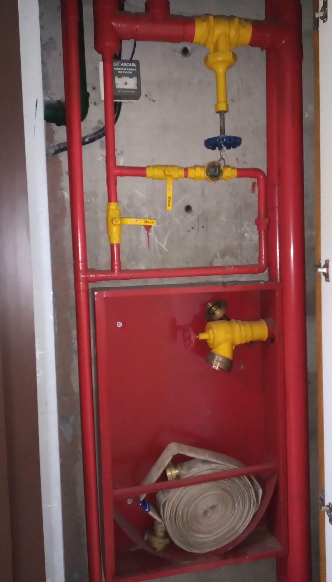 Manutenção Preventiva em Sistema de Sprinkler