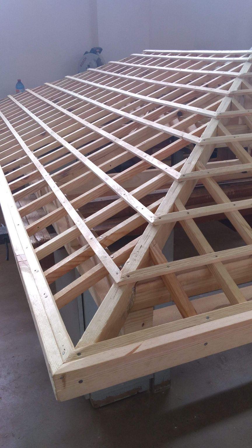 Carpintaria de estrutura de telhado