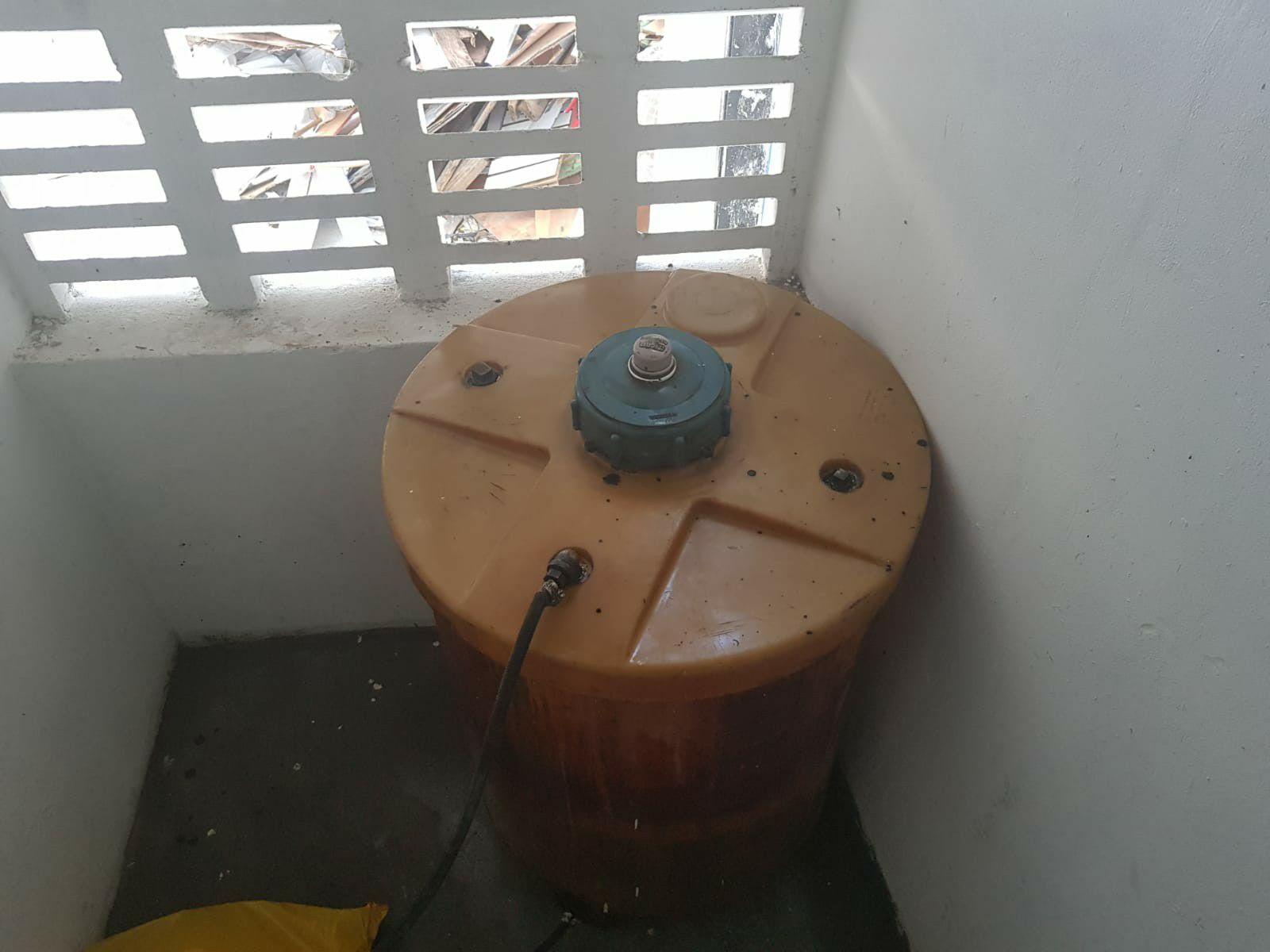 limpeza tanque diesel