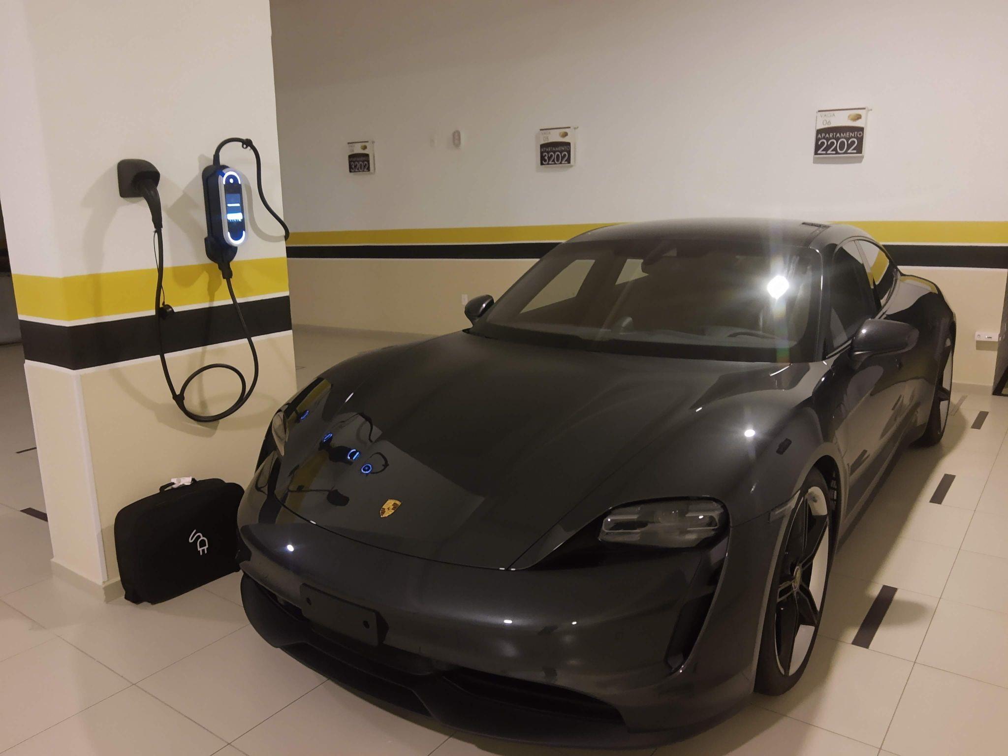 Mais uma Instalação bem sucedida Porsche Taycan