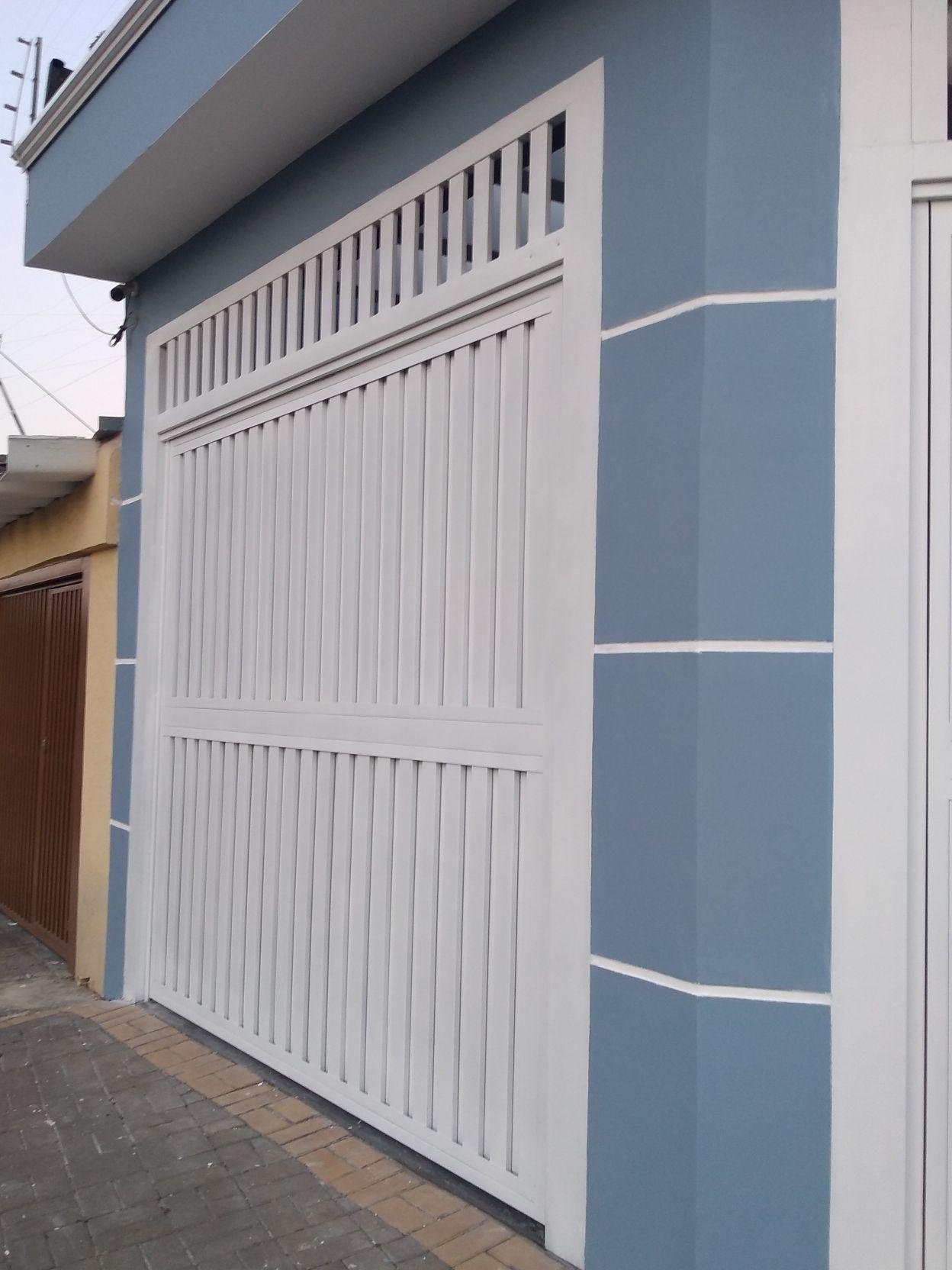 pintura externa e portão
