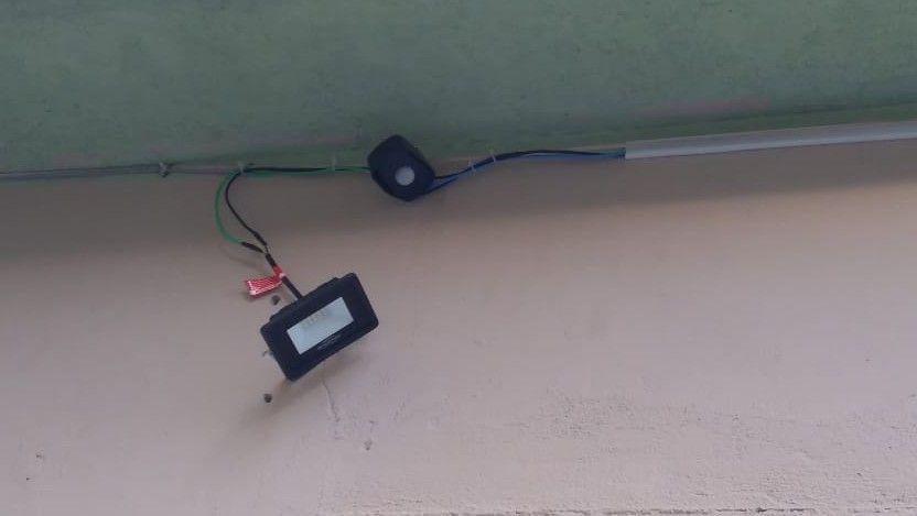 Sensor de presença noturno