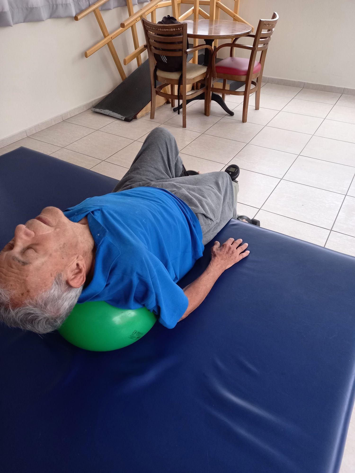 trabalho de fortalecimento e manutenção postural!