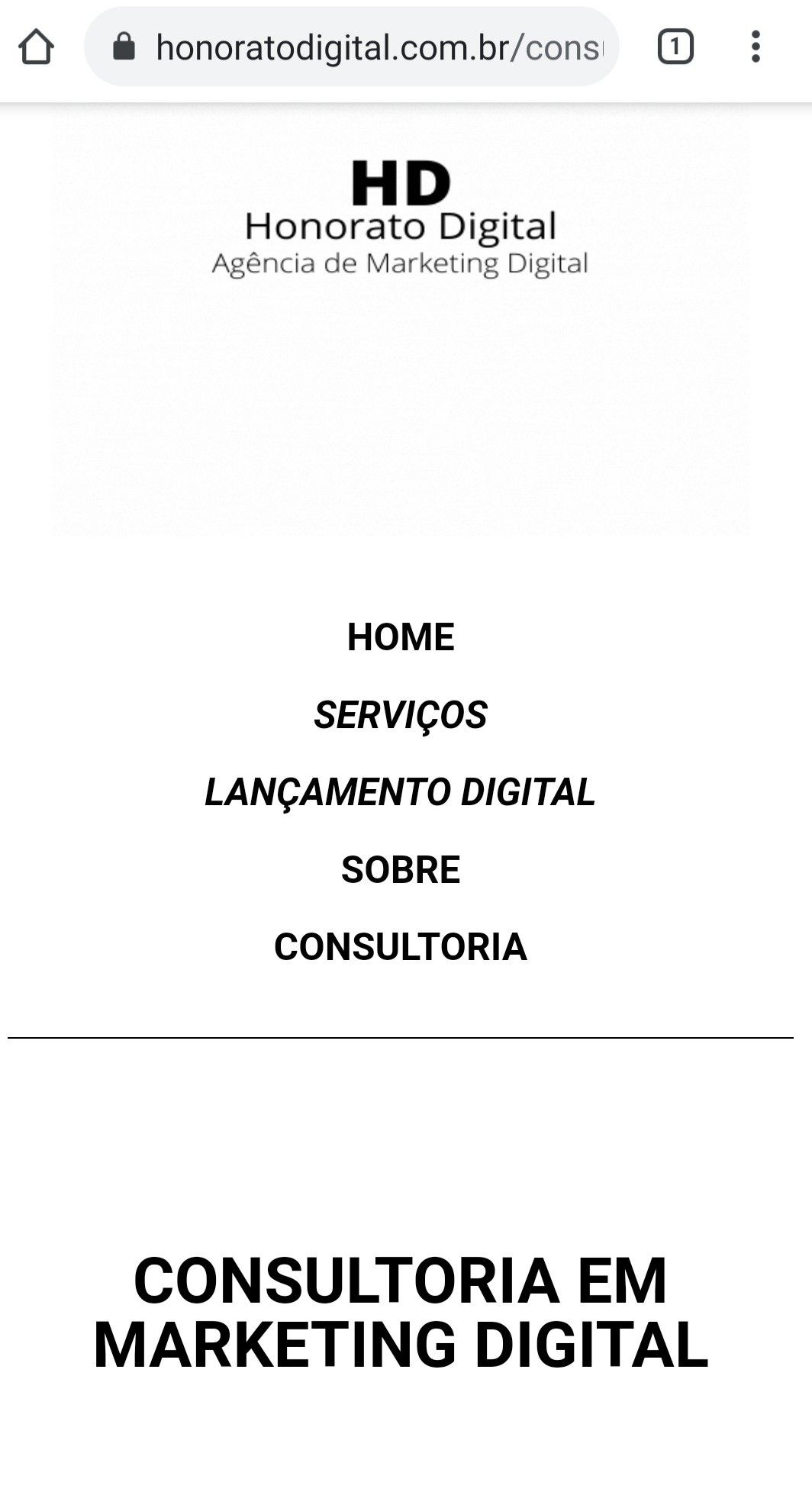 Consultoria Honorato Digital