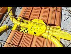 Instalação de eletrodutos