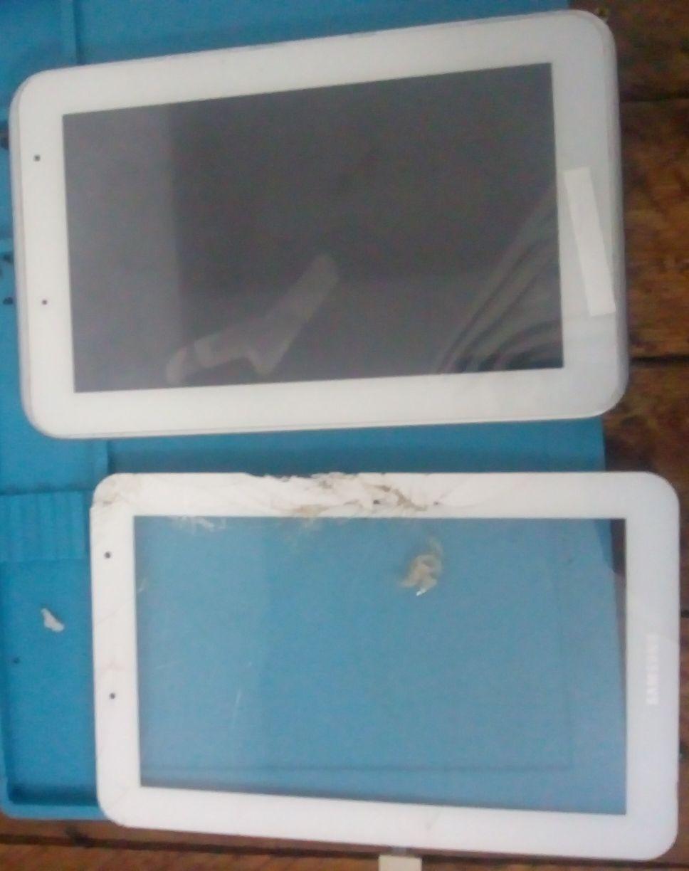 Troca de frontal, tela touch e LCD de tablets