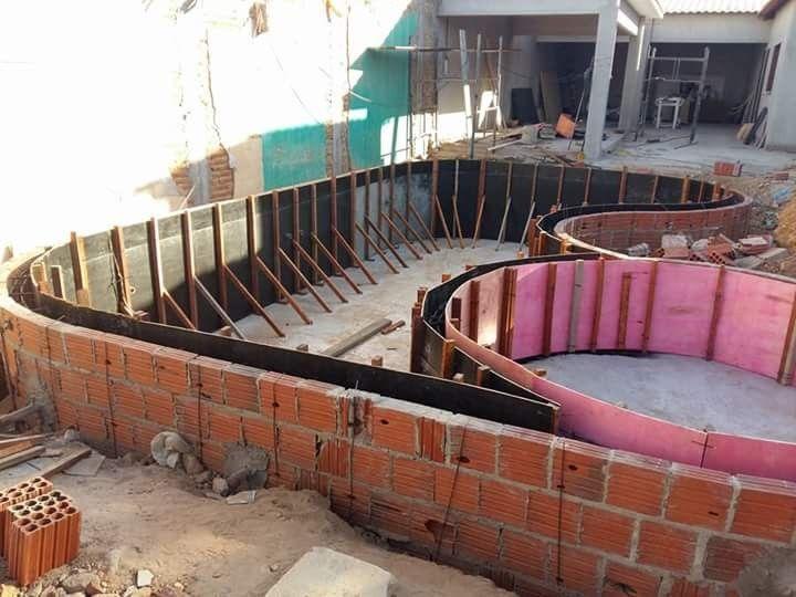 piscina concreto armado